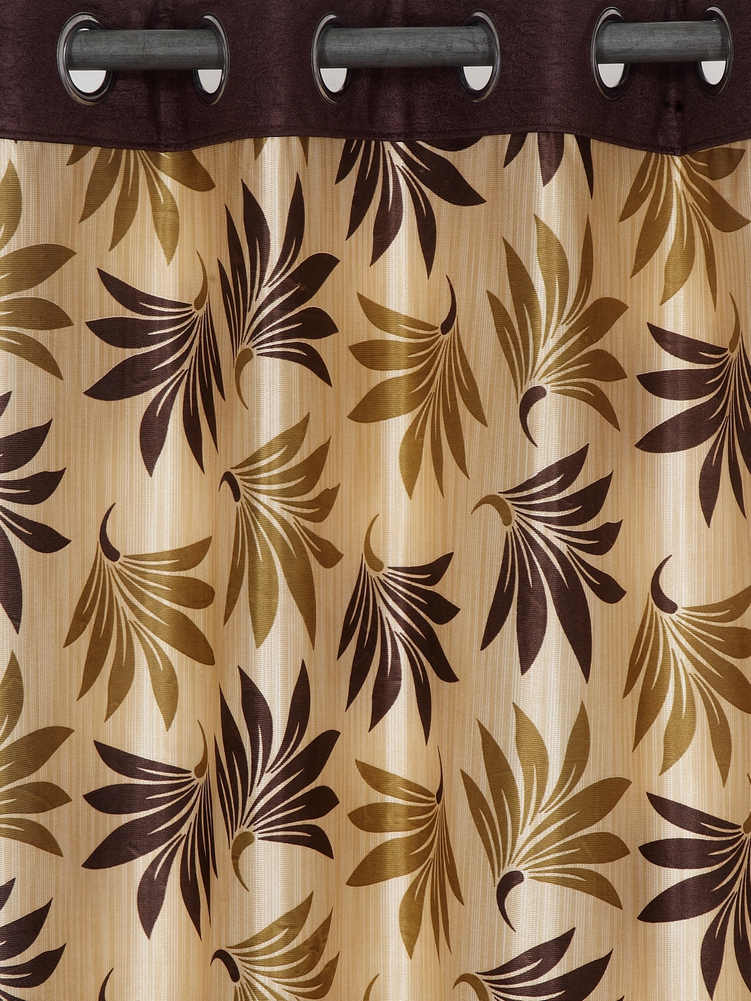 Polyester Printed Window Curtains for Bedroom, Kitchen, Kids or Living Room-022_Set of 2 - 1, Medium