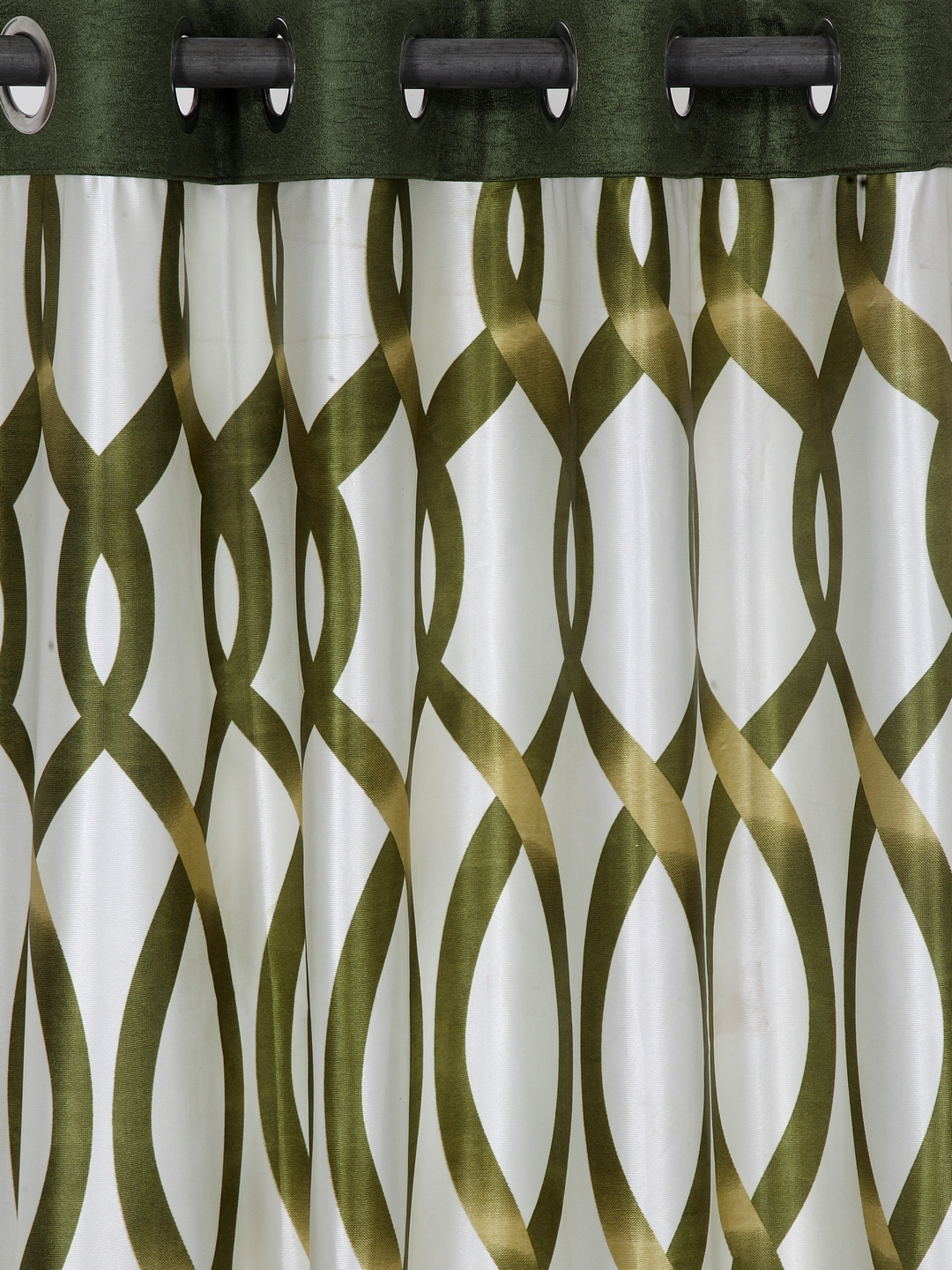 Polyester Printed Window Curtains for Bedroom, Kitchen, Kids or Living Room-012_Set of 2 - 1, Large