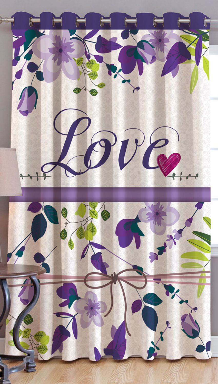 JARS Collections Digital Print Window  Curtain - 1 pc
