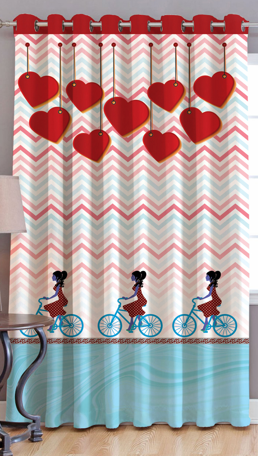 JARS Collections Digital Print Long Door Curtain-1 pc
