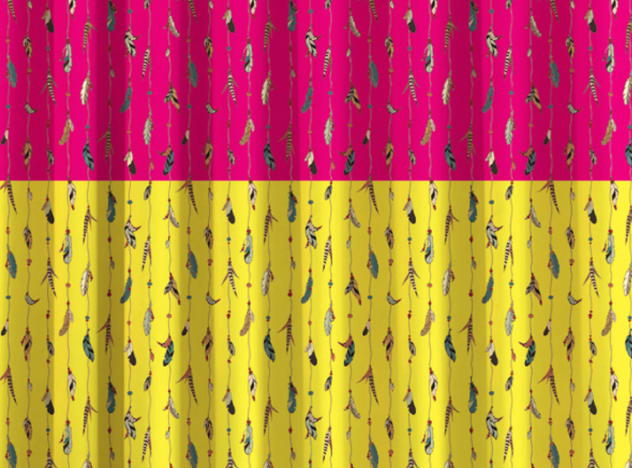 JARS Collections Digital Print Door Curtain - 1 pc