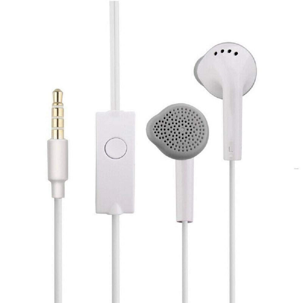 RSFuture Earphone for Samsung Galaxy Ace Style in The Earphone/Handfree Genuine with Mic / 3.5mm Jack and Like Performance with Superior Sound Quality Earphones - White