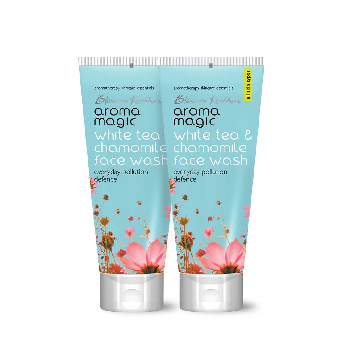 Aroma Magic White Tea & Chamomile Face Wash 100 ml Pack Of 2