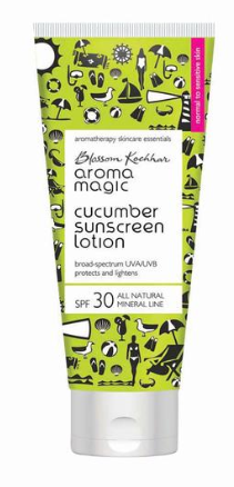 Aroma Magic Cucumber Sunscreen Lotion ; 100 ML