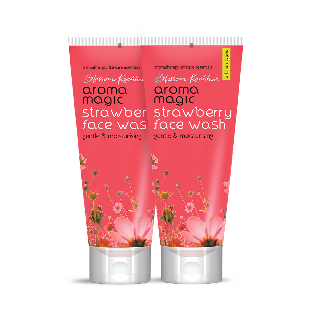 Aroma Magic Strawberry Face Wash 100 ml Pack Of 2