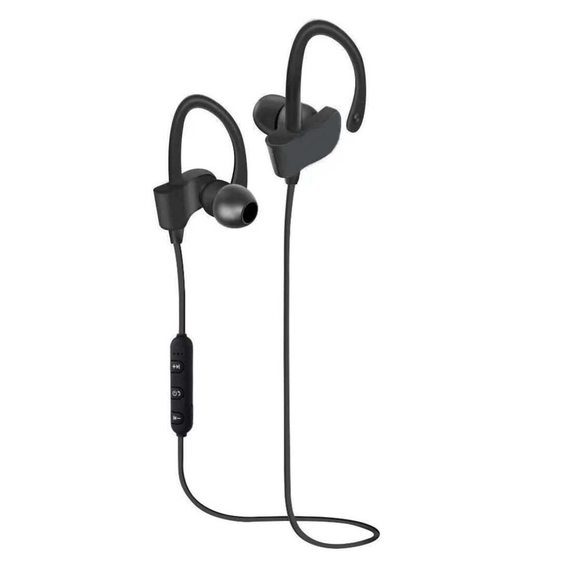 eHIK-QC10x NeckBand Wireless in the ear Behind the Neck - Black
