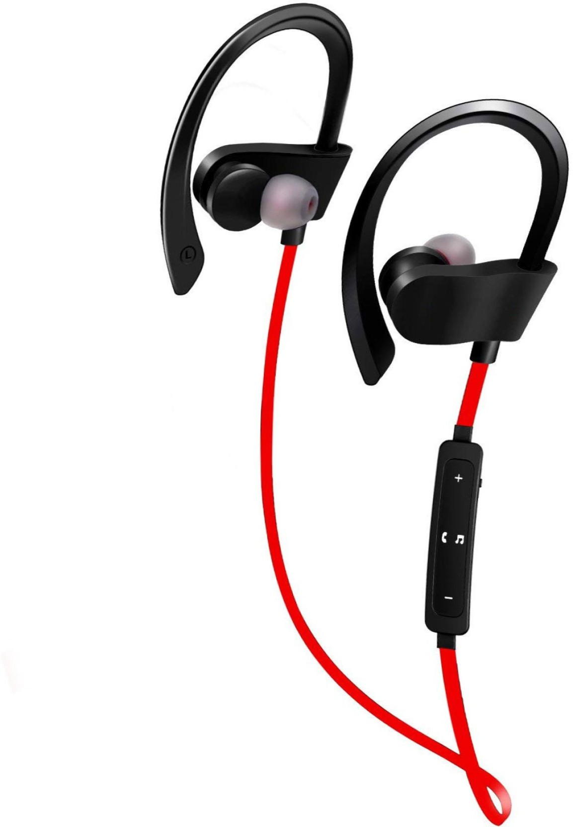 IS-QC10x NeckBand Wireless in the ear Behind the Neck - Red
