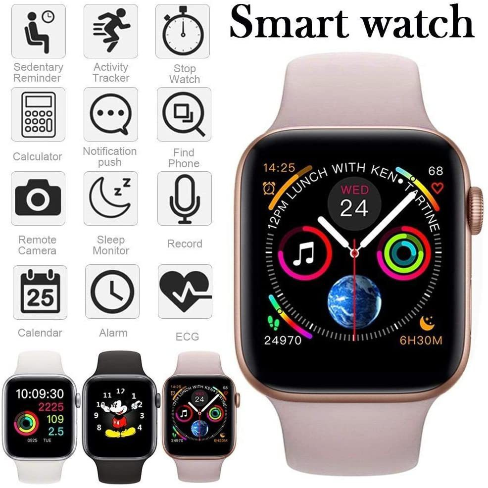 Acromax APLLE Watch Series 6 Metal Case Smart Watch with Bluetooth Calling