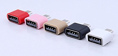 ClickAway little Adapter Micro USB OTG to USB 2.0 Adapter for Smartphones and Tablets - Set of 3