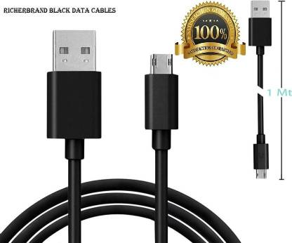 ClickAway  Data Cable,Black Data cable,Mobile Charging Cable,Fast Charging Cable,Compatible with all micro USB Supported Devices(SKU-BL-42 1 m Micro USB Cable  (Compatible with Samsung Galaxy J7, Black, One Cable)