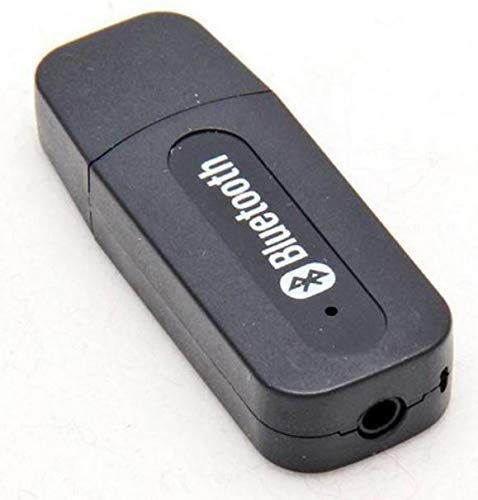 Drumstone Universal Wireless Bluetooth V2.1 Car Kit Hands Free 3.5mm Music Audio Receiver Compatible with Smart Mobiles