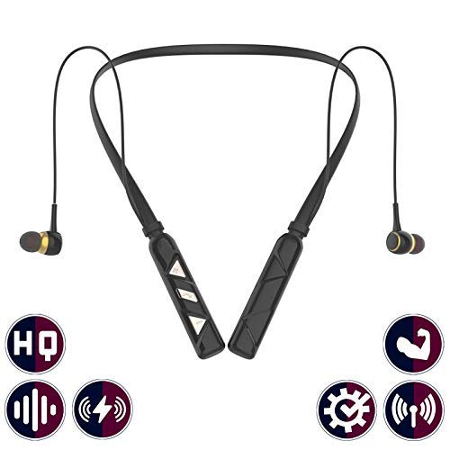 Drumstone UB-368 Wireless Bluetooth Stereo Handsfree Headset with Sweatproof and Lightweight Design with Inbuilt Microphone
