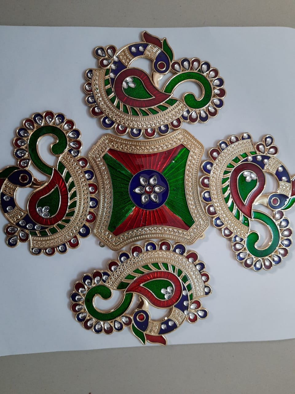 Handmade Rangoli packat Big