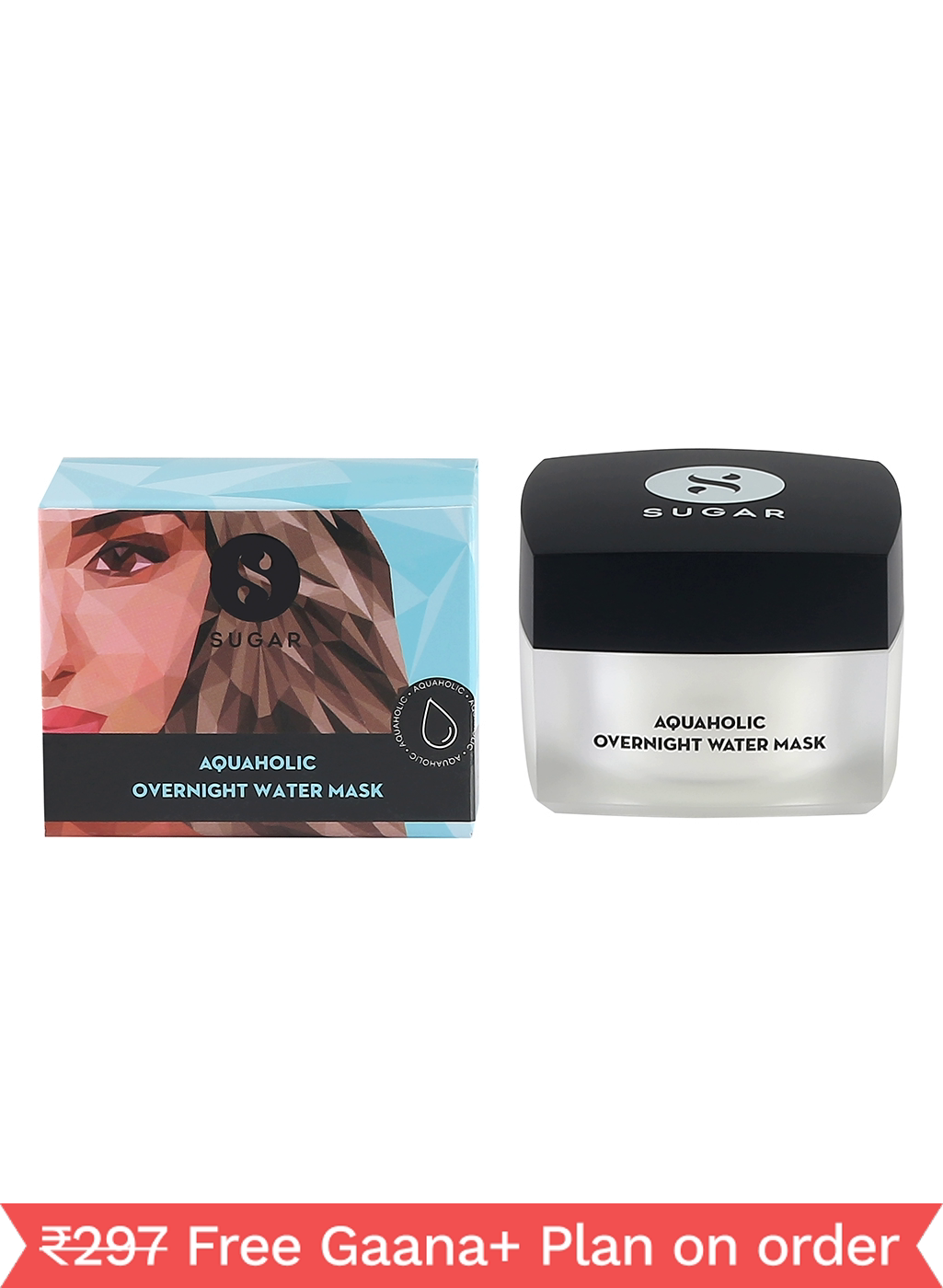 SUGAR Aquaholic Overnight Water Mask