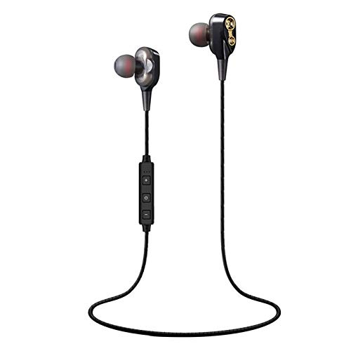 Nory  4D Earphones with 3.5mm Jack, Dynamic Dual Sound Drivers for Thumping Bass and Handsfree Calling Support for All Smartphones