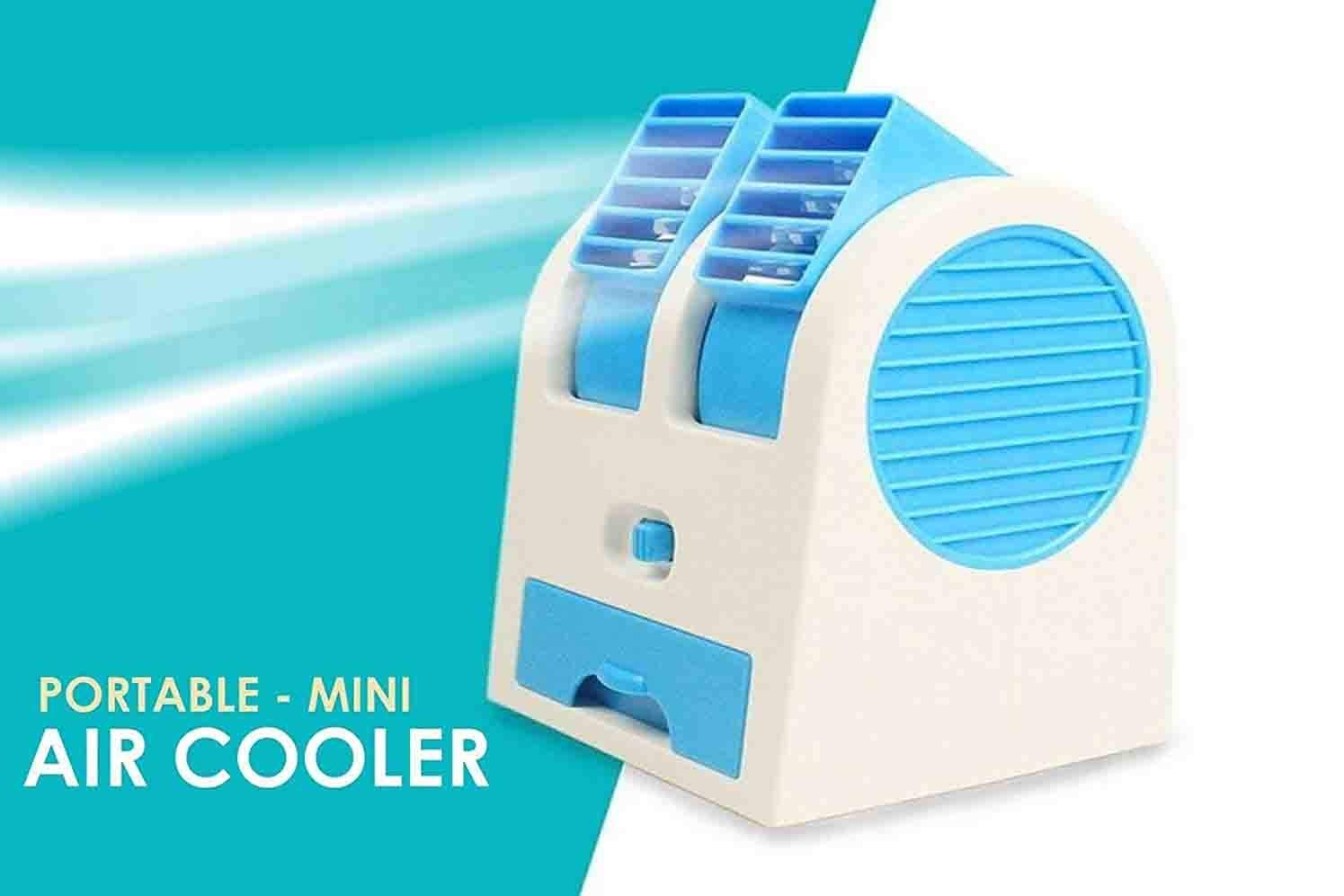 Nory portable Mini Air Cooler Bladeless Fan USB Charging With Fragrance