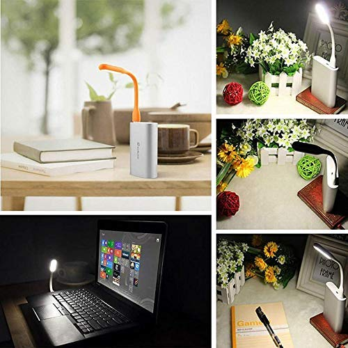 Nory Portable Mini USB Fan Cooling Electricity Saving Silent Flexible Mini Fan Compatible Any USB Port Like Power Bank/Notebook/Laptop/Computer (Pack of 2)