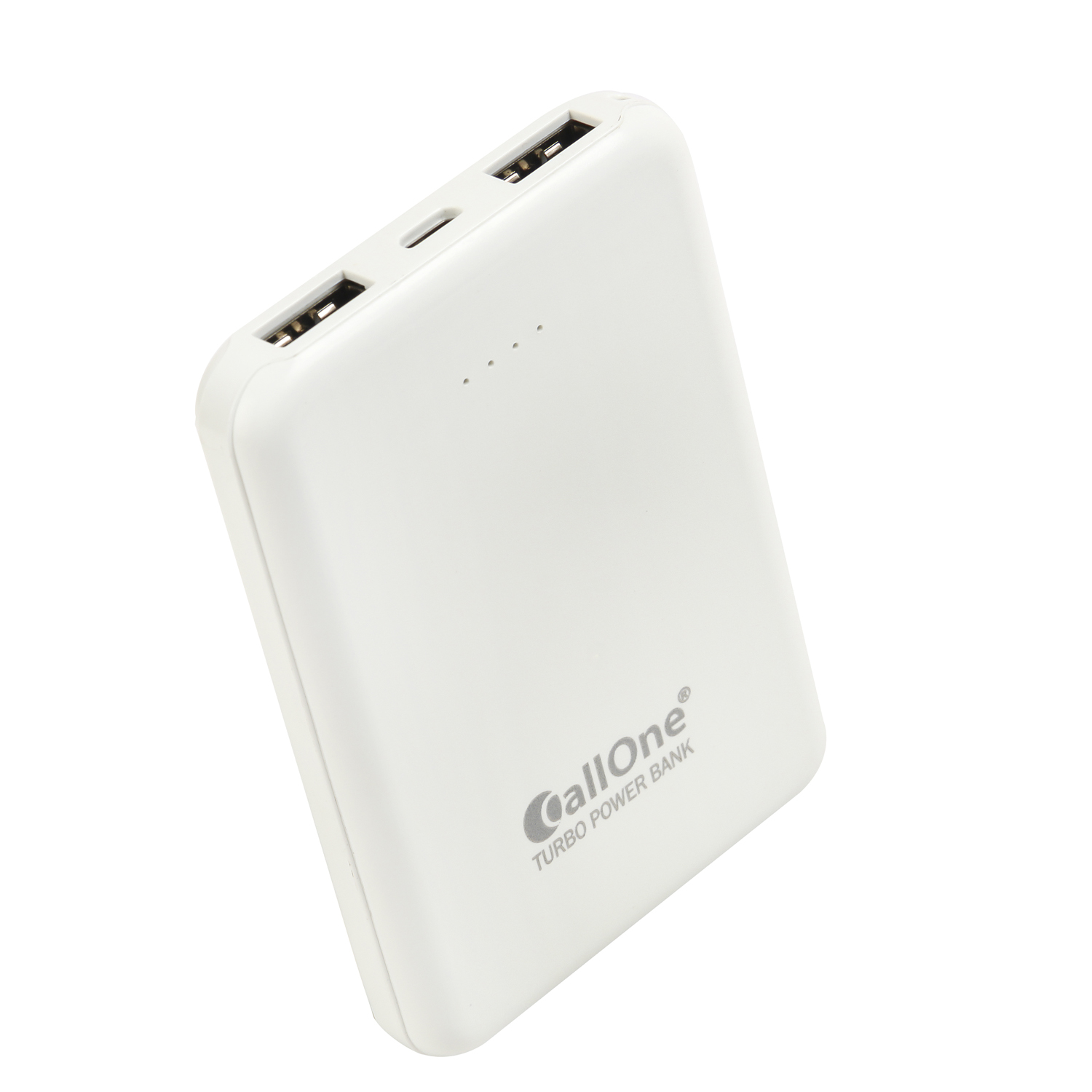 CallOne Small Slim Pocket Power Bank 5000 mAh