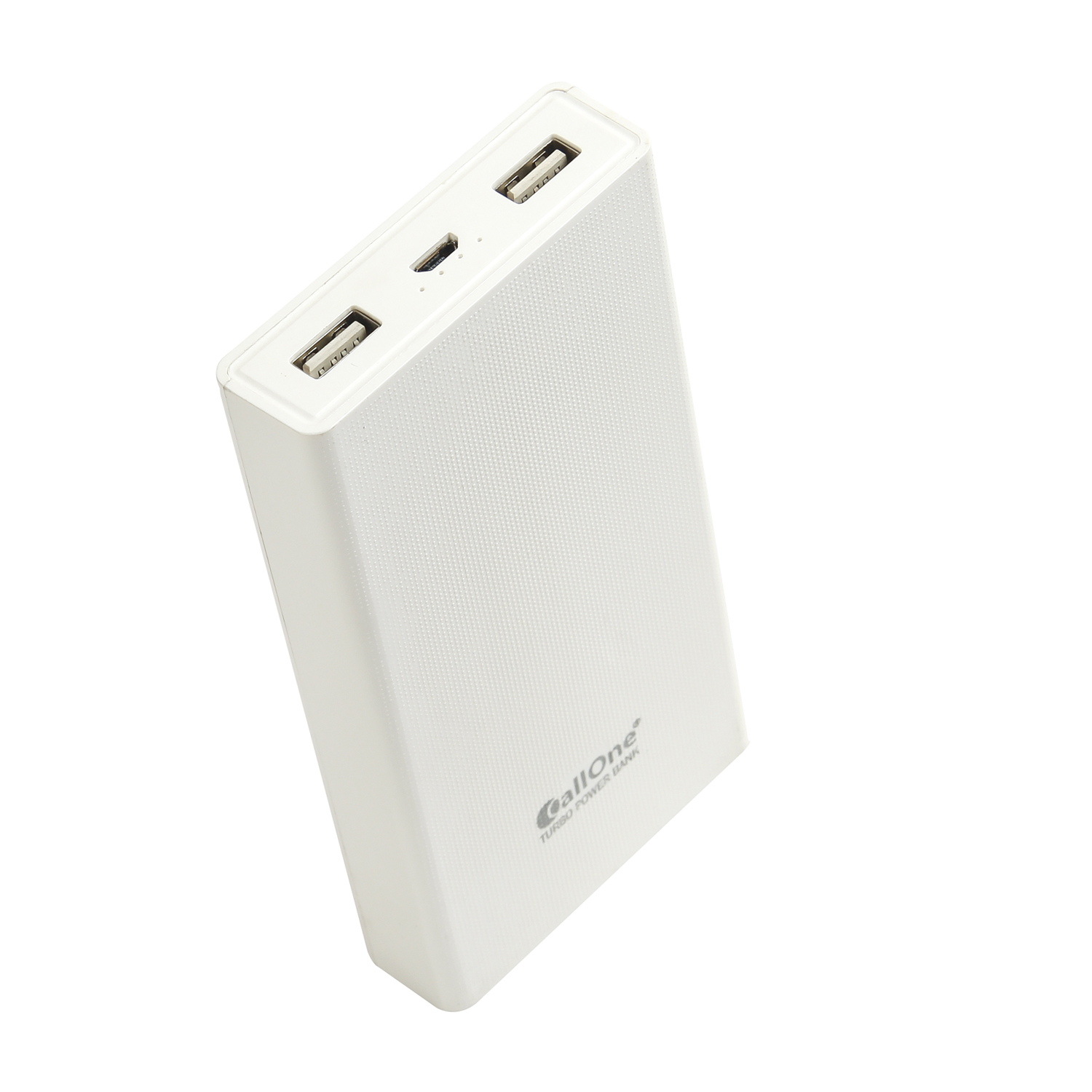 CallOne M6 15000 -mAh Li-ion Dual USB Port High-Speed Charging Technology, Power Bank Compatible with All Smartphones