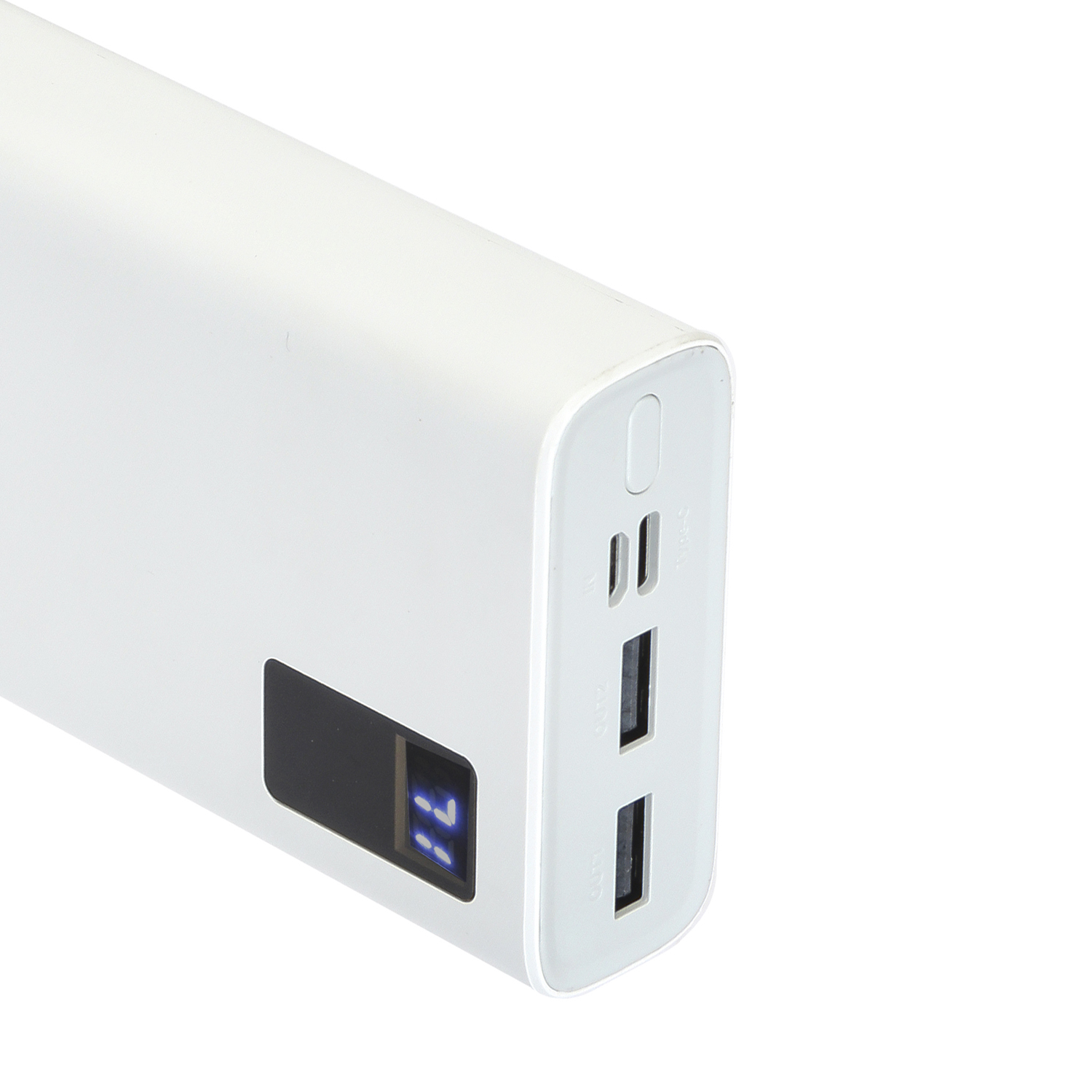 CallOne COPB-220 Digital Power Bank 20000mAh With 2USB Charging Port Li-Polymer Power Bank  Input USB Type C and Micro USB