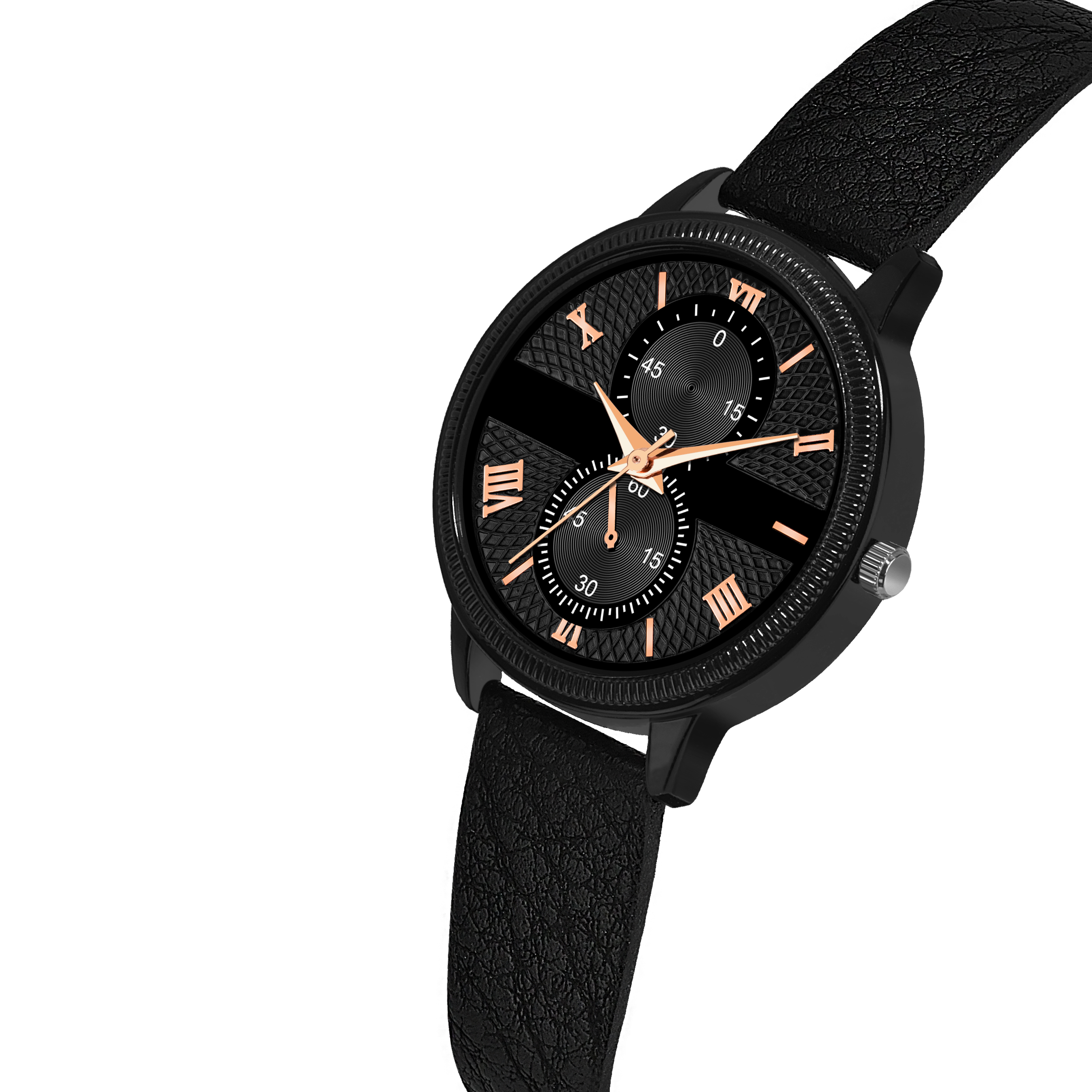 JM black 030 Ray DAY AND DATE FUNCTIONING