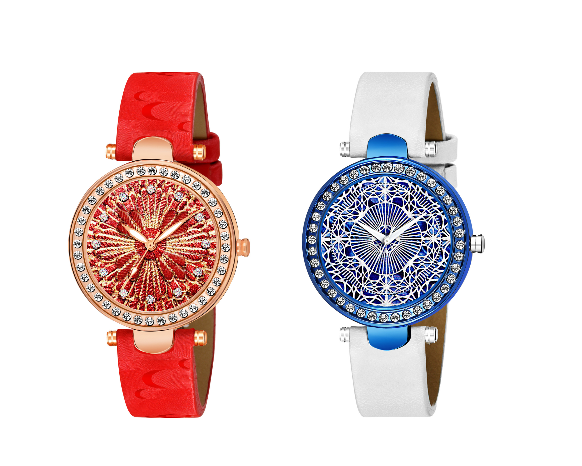 A�Super Hit Collection red & golden designA�&  classic blue WATCH
