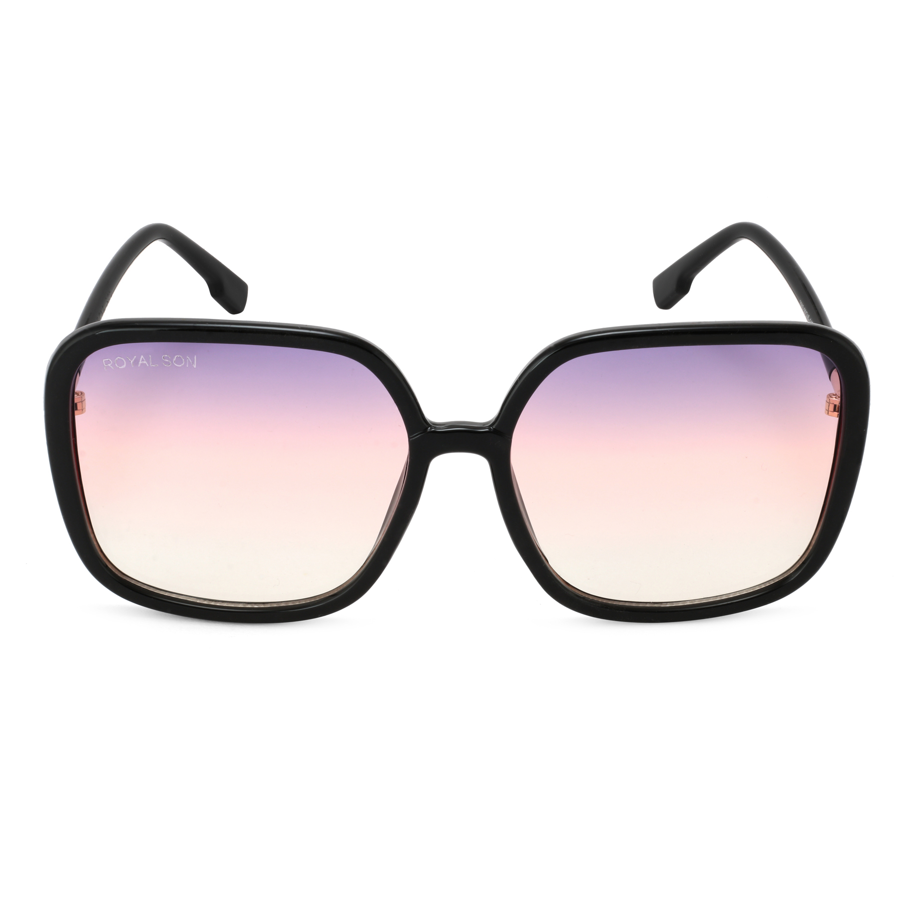 ROYAL SON Over Sized UV Protected Women Sunglasses - Purple
