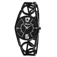 Timebre Women Black Metal Analog Watch (TMLXBLK740)