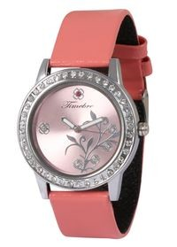 Timebre Women Pink Daimond Analog Watch (TMLXPNK20)