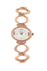 Timebre Women Magnificent Rose Gold Luxurious Analog Watch (TMLXWHT364)