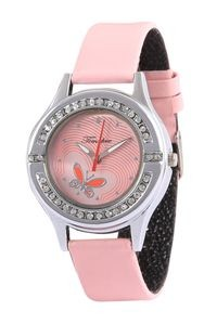 Timebre Women Pink Daimond Analog Watch (TMLXPNK74)
