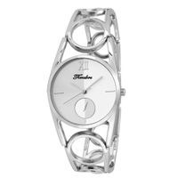 Timebre Women White Stainless Steel Analog Watch (TMLXWHT735)