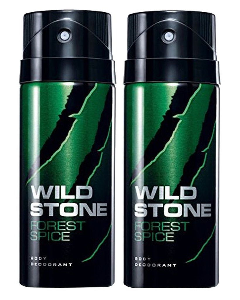 Wild Stone Forest Spice Body Deo - 150 ml each (Pack of 2)