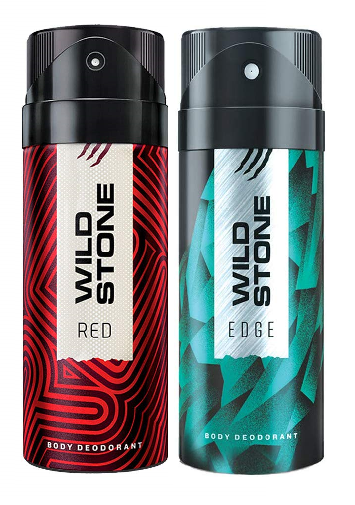 Wild Stone Red & Edge Body Deo - 150 ml each (Pack of 2)