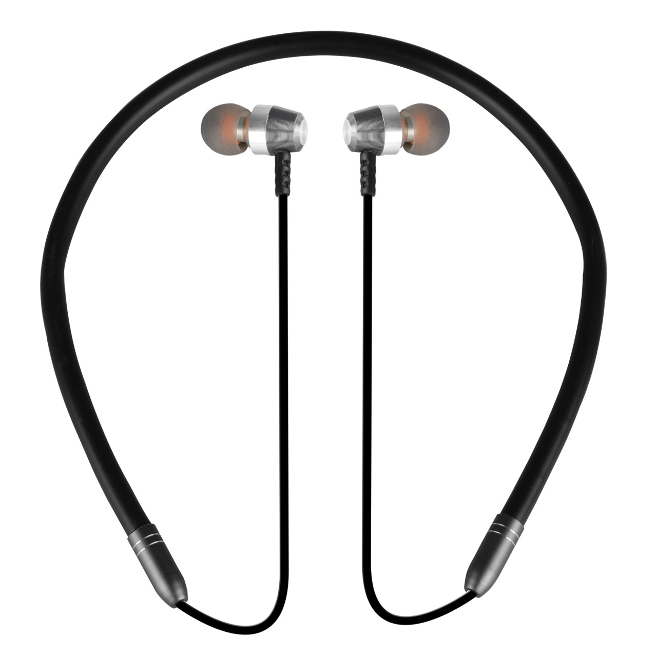 Silco SL-33 Wireless Magnetic  Bluetooth Neckband Earphones Headset with Mic (Black)