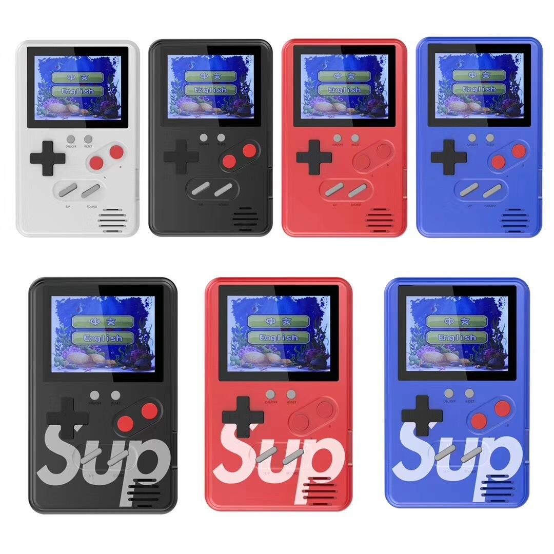 Gaming Console Sup 500 In 1 Portable With Colorful Lcd Screen Usb Rechargeable (Multicolor)