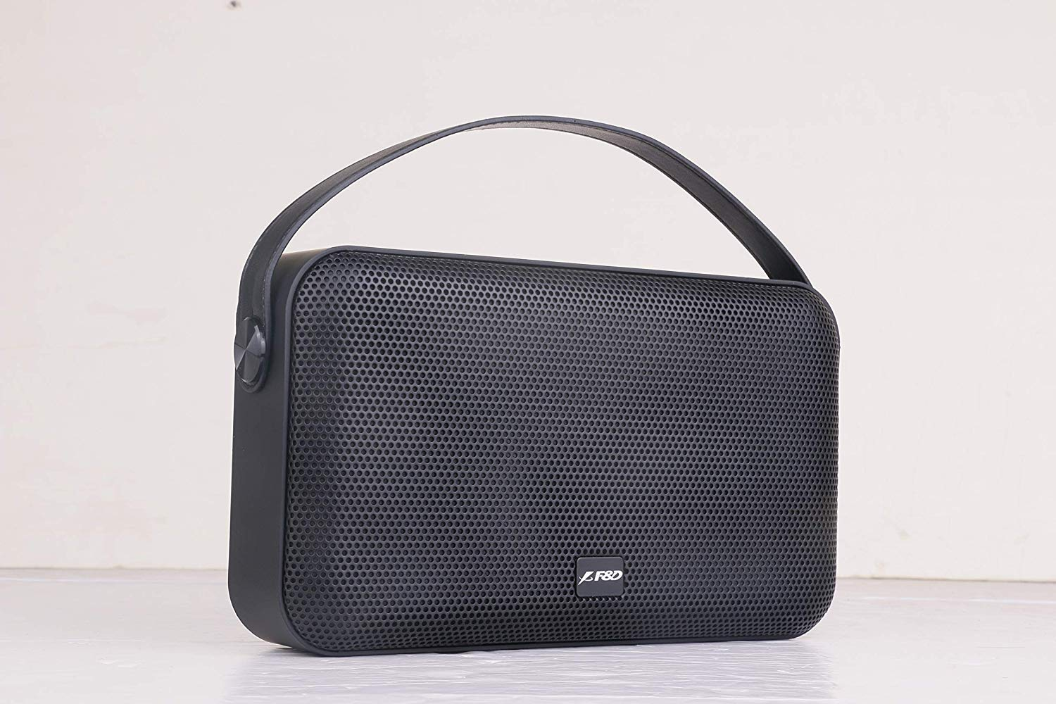 F&D W19 12 W Bluetooth Speaker (Black, Stereo Channel)