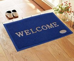Komfort Creations Pvc Welcome Mat ( 16 X 24 )  (Kcwmbl)