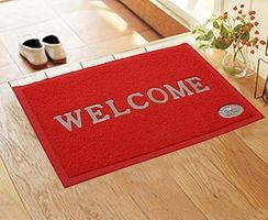 Komfort Creations Pvc Welcome Mat ( 16 X 24 )  (Kcwmr)