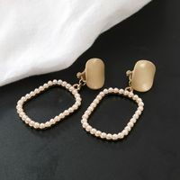Yuvanika Gold Alloy Clip On Earring
