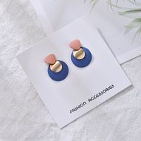 Yuvanika Blue Alloy Clip On Earring