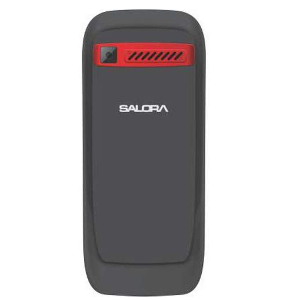 Salora KC12 Volt2- SV with Vibrator (Black-Green) 2000 mAh Battery