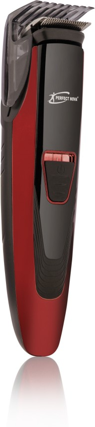 Perfect Nova (Device Of Man) Prime Series PNHT 9085 Runtime: 45 min Trimmer for Men  (Red)