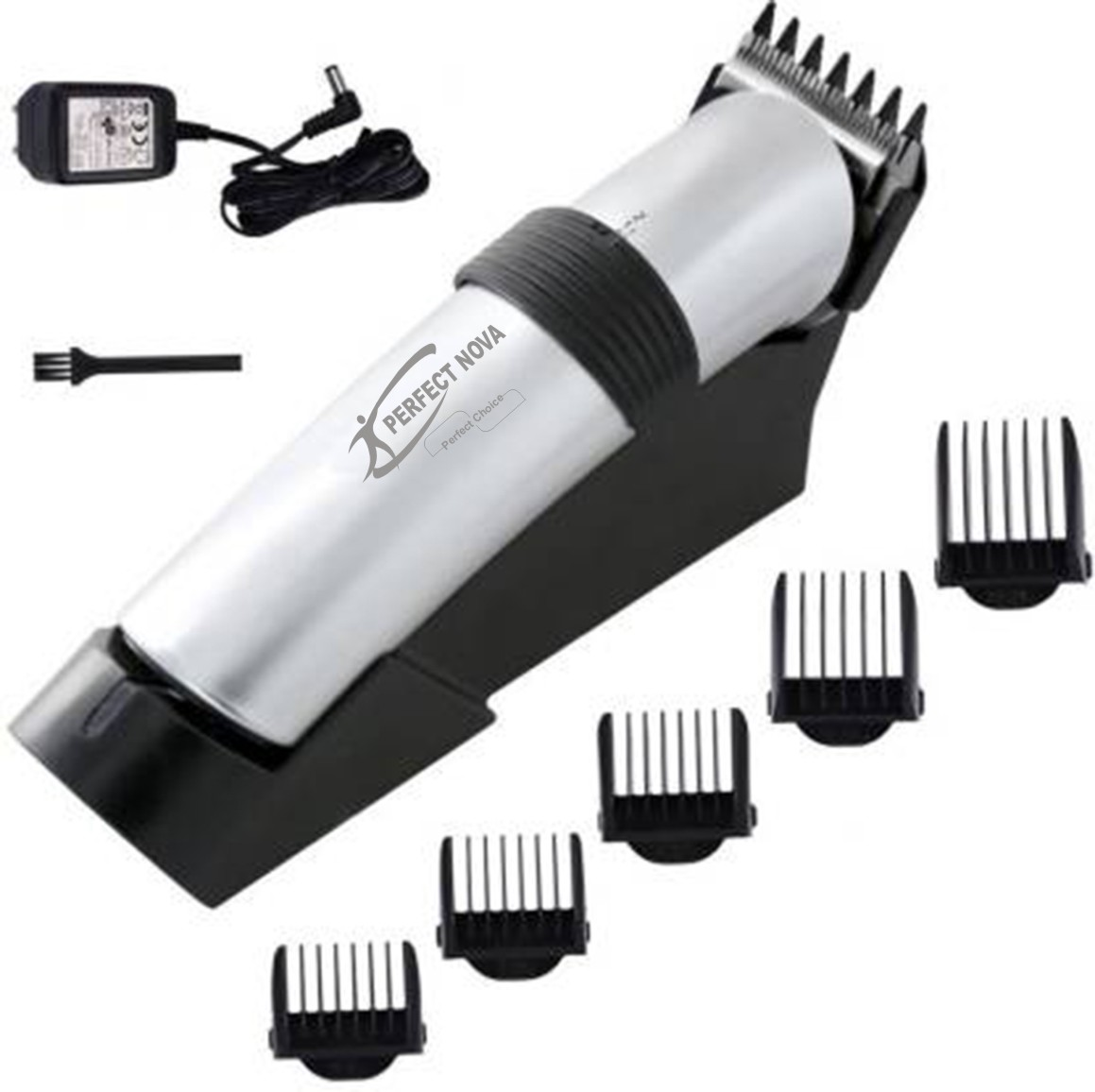 Perfect Nova (Device Of Man) PN-513 Runtime: 60 Min Trimmer For Men (Silver)