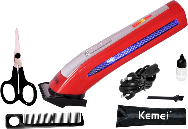 Kemei KM-6911 Shaver For Men????(Red)