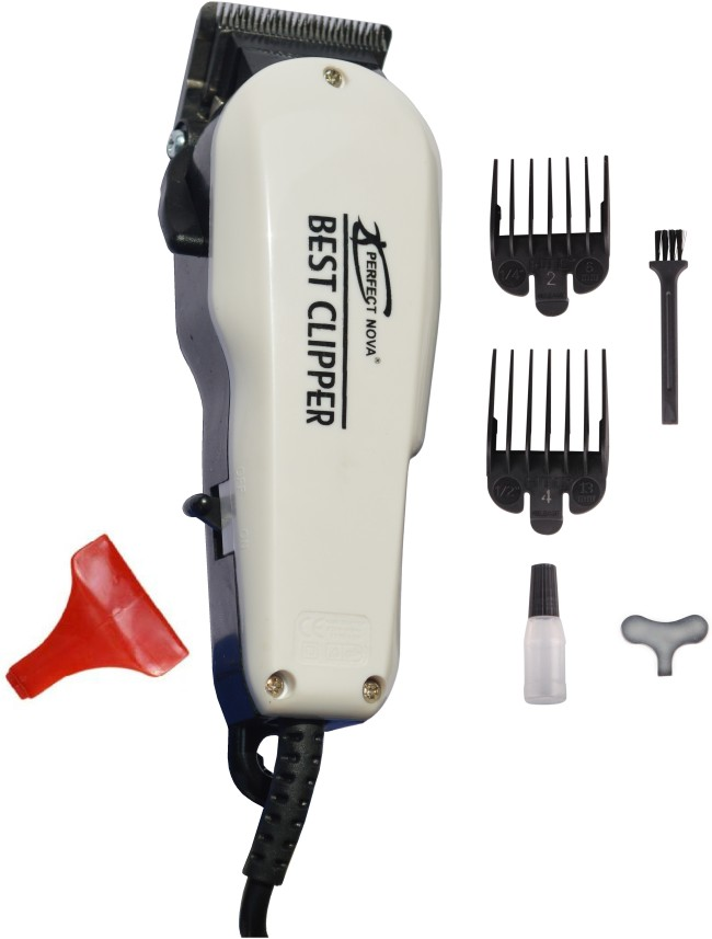 Perfect Nova (Device Of Man) PNHT-102 Home Cut Complete Hair Cutting Runtime: 0 min Trimmer for Men  (White)