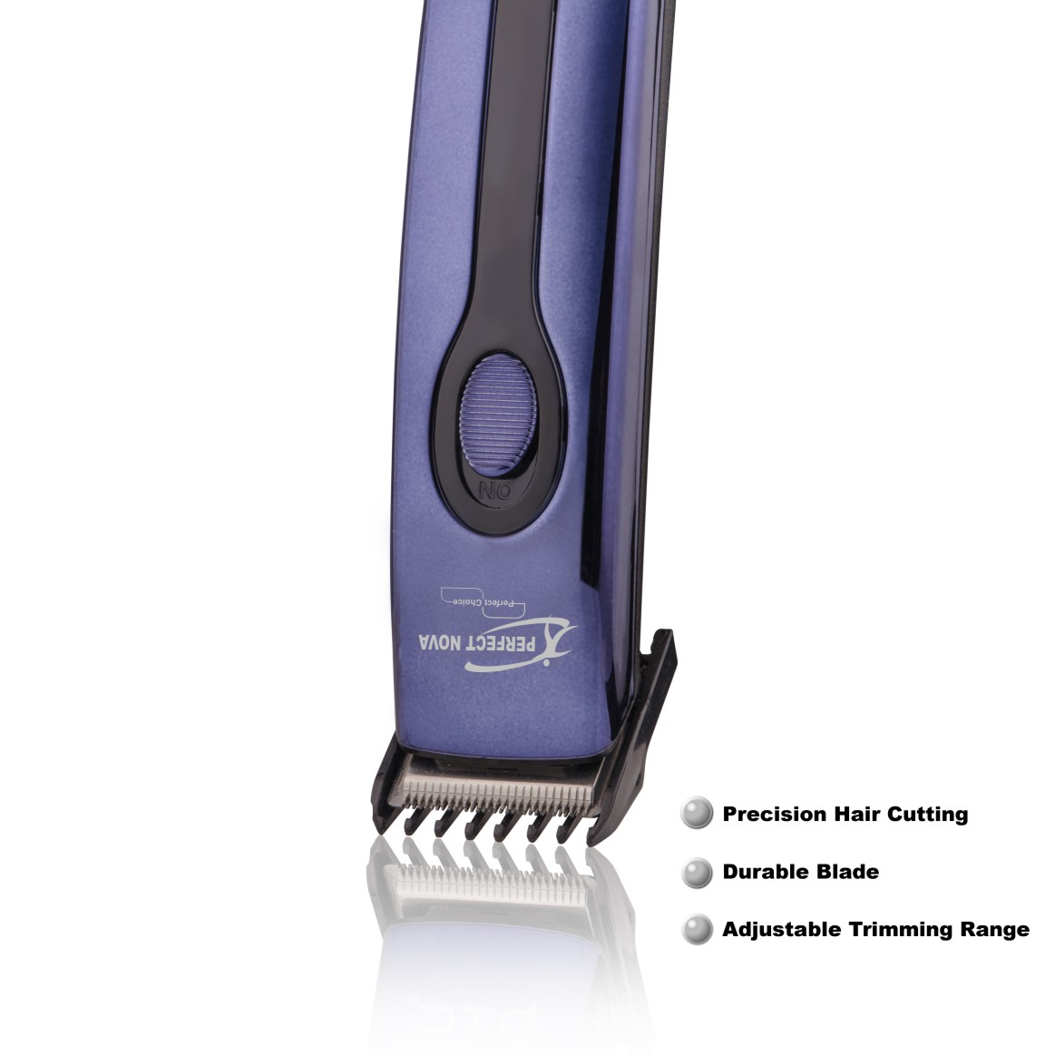 Perfect Nova (Device Of Man) PN-209 Runtime: 45 Min Trimmer For Men (Blue)