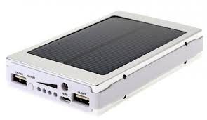 HBNS Solar 20000mAh Power Bank With Fast Charging Speed,Lithiom ion Battery,Fast Charger