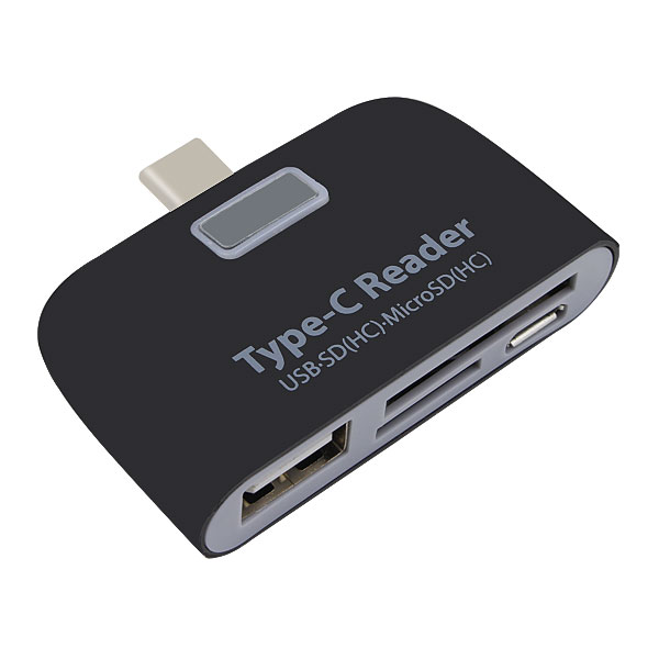 Maxim Type C Card Reader OTG HUB Adapter with SD(HC),TF Card Micro USB,USB Reader