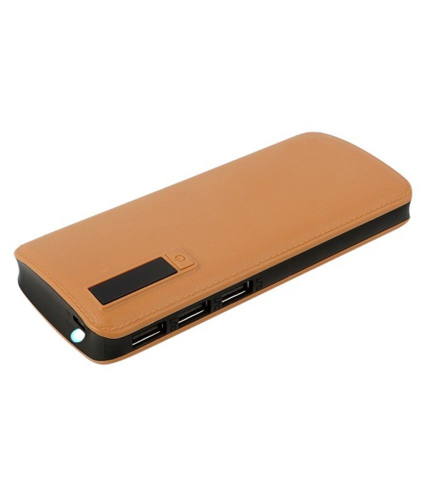 FRYSKA Smarty Leather 20000mah Power Bank Micro USB Fast Charging For All Android & iOS